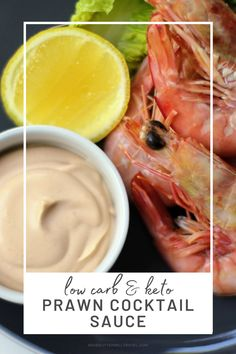 Keto prawn cocktail sauce recipe is perfect to pair with your favourite seafood protein. Great to serve with your prawns at Christmas and during the summer. Ketogenic Recipes, Ketogenic Diet, Low Carb Recipes, Prawn Cocktail, Cocktail Sauce, Keto Sauces, Lunches And Dinners, Great Recipes, Seafood