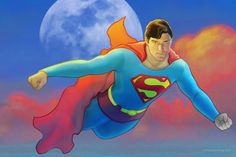 Christopher Reeve, the gold standard Superman