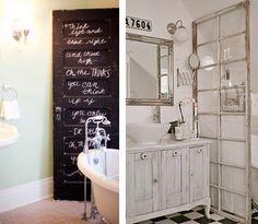 Recycled diy bathrooms decor Doors