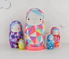 nesting dolls by rebecca kemp post from a bit of a character