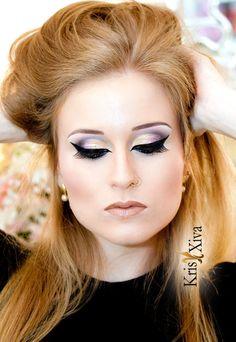 Maquiagem de festa inspiração oriental