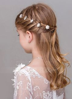 Women Hairstyles Braids [ Hairpin (Set JJs House New Site Flower Girl Hairstyles Hairpin House JJs Set site.Women Hairstyles Braids [ Hairpin (Set JJs House New Site Flower Girl Hairstyles Hairpin House JJs Set site Flower Girl Hairstyles, Little Girl Hairstyles, Hairstyles For School, Cute Hairstyles, Braided Hairstyles, Hairstyles 2016, Medium Hairstyles, Halloween Hairstyles, Hairstyle Short