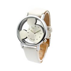 Mouse Geneva Leather Watches (2016 Model)