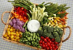 20 Yummy Veggie Trays for Any Occasion .You can find Veggie tray and more on our Yummy Veggie Trays for Any Occasion . Make Ahead Appetizers, Appetizer Recipes, Simple Appetizers, Veggie Platters, Vegetable Trays, Vegetable Tray Display, Vegetable Garden, Vegetable Basket, Yummy Veggie