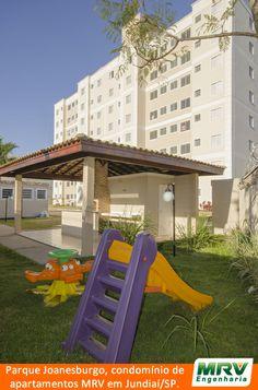 Paisagismo do Joanesburgo. Condomínio fechado de apartamentos localizado em Jundiaí / SP.