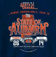 State of Denial vs State of Auburn