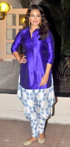 Sonakshi Sinha at Ekta Kapoor's Diwali bash.