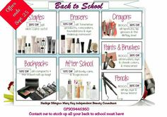 Back to school Contact me today to order or Book a free consultation or skin care class to receive up to in products. share this post and ask your friend to mention your name and receive off an item of your choice. After School, Back To School, Hemel Hempstead, Mary Kay Cosmetics, Makeup Remover, Lip Makeup, Concealer, Foundation, Lipstick