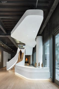 Reception - Douglas Elliman Makes a Grand Entrance Onto the L.A. Scene with its Patrick Tighe-Designed Office