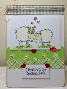 Ewe and Me new image available from www.ladybugcraftsink.co.uk today