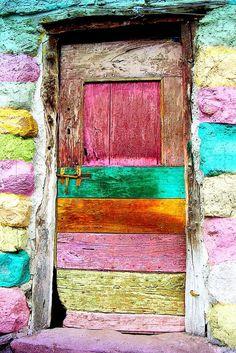 Colorful Door - La porte du Bonheur