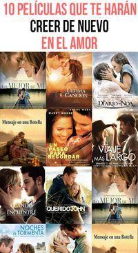 10 películas que te harán creer de nuevo en el amor. Estás harta del amor y crees no volverlo a encontrar. Busca recuperar la fe en el amor con películas que te harán querer a enamorarte