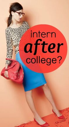 Should you take an internship after college?