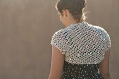 Ball Hank n' Skein: Glam Girl Shrug - Free Crochet Pattern
