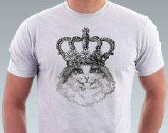 Cat Shirt Happy Kitten Cat Kitty on Hands Pet Animal Art Print Cat Shirts, Cool T Shirts, Cat Lover Gifts, Cat Lovers, Happy Kitten, Hipster Cat, Animal Fashion, Cats And Kittens, Kitty