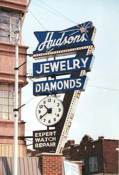 IL-Granite City-Hudson's Jewelers, via Flickr.