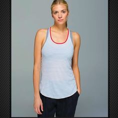 Lululemon What the Sport Singlet Tank Top Loose lightweight tank easy to layer over any sports bra for any level sport or fitness. 💌Thank You for your Interest!!😘 ❌NO Trades❌ 💲Price FIRM, Use the Bundle Discount: 4️⃣Items=20%OFF!! ✨Can't find 4️⃣you like? Ask me to make you a custom BUNDLE. lululemon athletica Tops Tank Tops