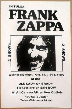 1981 Frank Zappa Tulsa