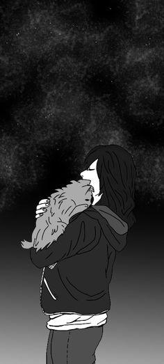 Que si me quedo con tu ausencia pasaré el resto de mi vida vacía... de nuevo.