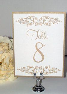 n° de table