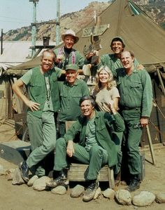 M*A*S*H, v2--Mike Farrell, William Christopher, Harry Morgan, Alan Alda, Loretta Swit, Jamie Farr, David Ogden Stiers