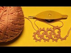 101-Shuttle tatting#Lesson-25, tatting lace (Hindi/Urdu) - YouTube