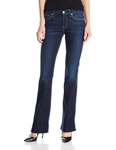 c5666aba3a32bf 7 For All Mankind Women s Kimmie Bootcut Jean In Dark Royale Rinse