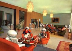 images of 1930's space art - Google Search