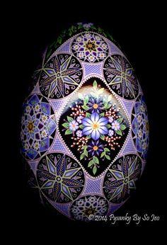 Ukrainian Easter Egg Batik Art Pysanky By So Jeo
