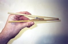 Chindogu: Japan's Art of Useless Inventions Useless Inventions, Japanese Inventions, Pop Stick, Chopsticks, Clothespins, Ocd, Product Design, Noodles, Purpose