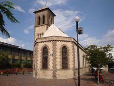 Iglesia Nacional Presbiteriana, ubicada en el Jardín de la Reforma.