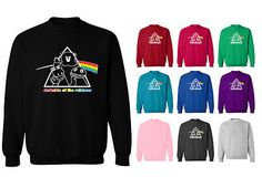 Rainbow tv show #darkside pink floyd funny unisex #sweater #sweatshirt jumper,  View more on the LINK: http://www.zeppy.io/product/gb/2/281302432490/