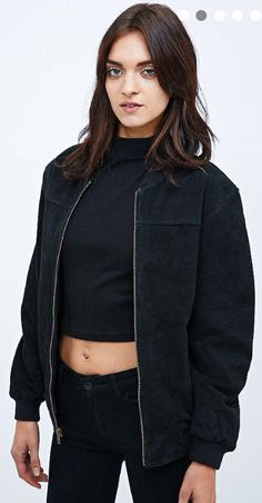 3e8c71fc7af6ef Suede black jacket - urban outfitters Lederjacke, Stadterneuerung, Urban  Outfitters, Google-suche