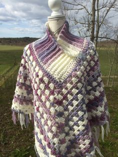 Watch This Video Beauteous Finished Make Crochet Look Like Knitting (the Waistcoat Stitch) Ideas. Amazing Make Crochet Look Like Knitting (the Waistcoat Stitch) Ideas. Crochet Poncho Patterns, Crochet Scarves, Crochet Clothes, Knitting Patterns, Tunisian Crochet, Crochet Shawl, Crochet Lace, Crochet Stitches, Knitted Baby Blankets