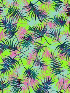 Tropical Palms on Behance