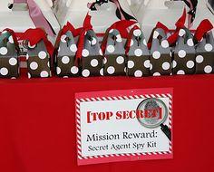top secret mission impossible party theme