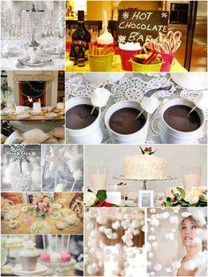 Winter Bridal Shower Ideas | mytrueblu.com