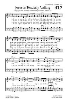 Jesus Is Calling - Hymnary.org