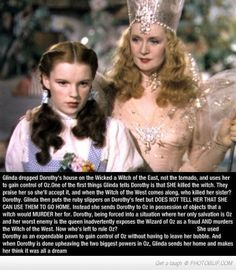 Wizard Of Oz  Fan Theories That Are Wacky Enough To Be Believable  ummm