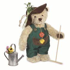 Hermann Original 14629 Gardener Teddy Bear