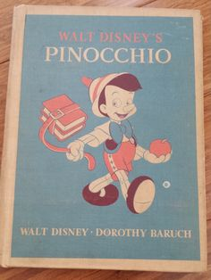 1940 Pinocchio - DC Heath and Company by 3LittleWitches on Etsy