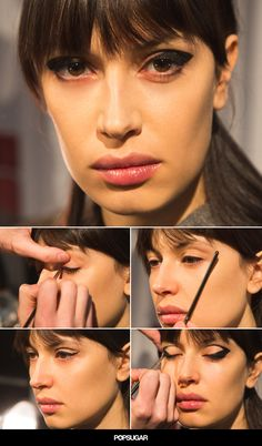 This graphic cat eye DIY is easier than it looks!