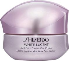 Shiseido White Lucent Anti-Dark Circles Eye Cream is an intensive and moisturizing eye cream that targets the appearance of blue and brown dark circles. Cream For Dark Spots, Eye Cream For Dark Circles, Dark Circle Remedies, Best Eye Cream, Prevent Wrinkles, Skin Brightening, Skin Cream, Bleaching Cream
