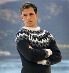 Tied Up, Pulls, Man Sweater, Men's Sweaters, Mens Fashion, Wool, Knitting, Jumpers, How To Wear