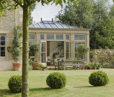 British conservatories and orangeries