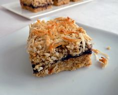 Oatmeal Coconut Berry Bars