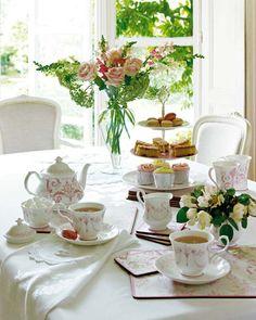 ¿Tomamos un té? Juegos de tazas para café y té