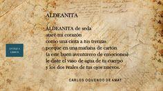 """""""Aldeanita"""", 5 metros de poemas, Carlos Oquendo de Amat. Literatura Peruana"""