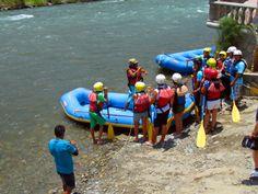 Rafting en Lunahuana