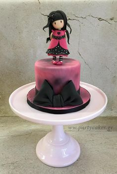Gorjuss Doll Cake - Cake by Samantha Potter